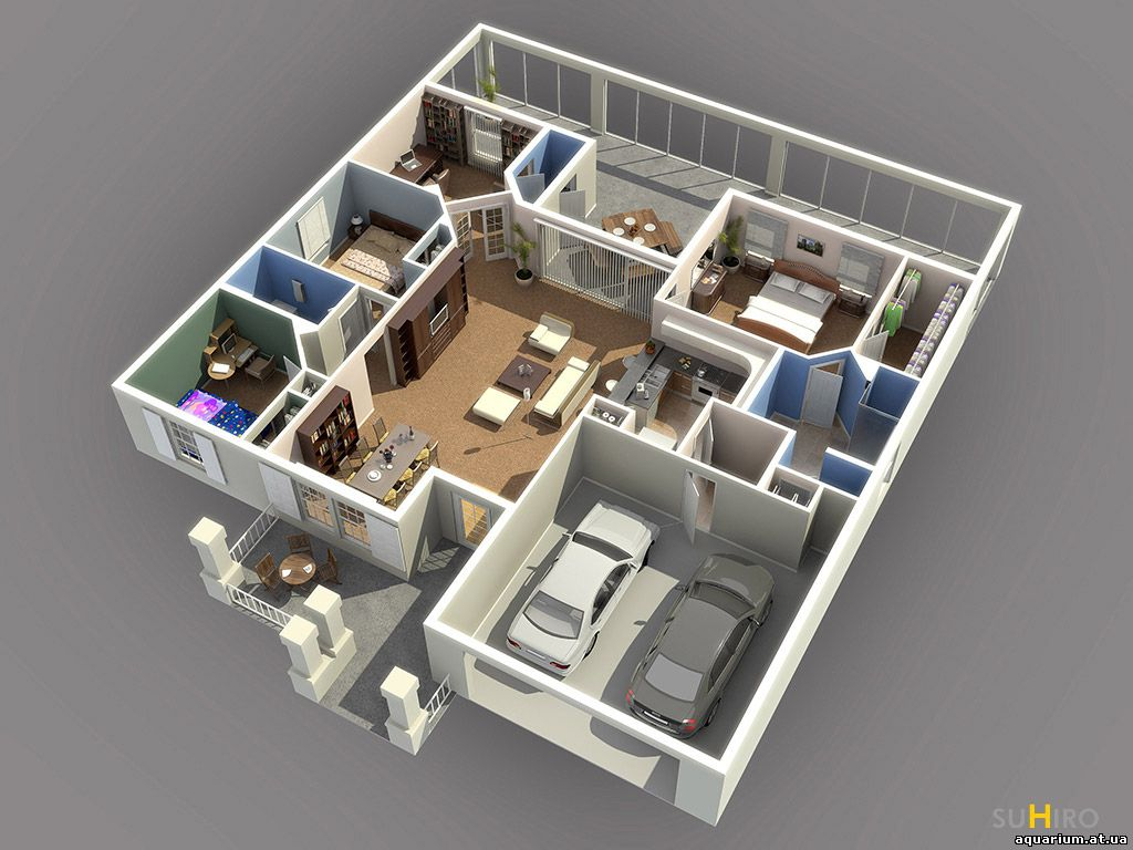 3d floor plan software 3d floor plan design3d studio for Site plan rendering software
